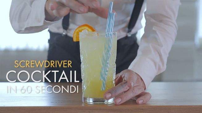 Cocktail in 60 secondi: Screwdriver