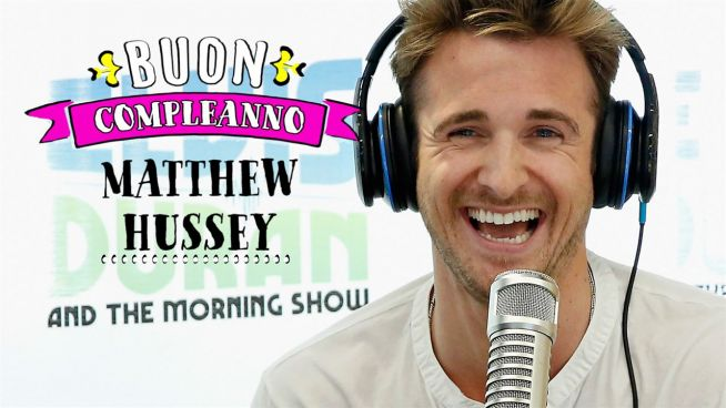 Buon compleanno a Matthew Hussey