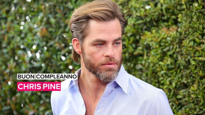 Buon compleanno Chris Pine